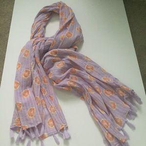 oranges scarf